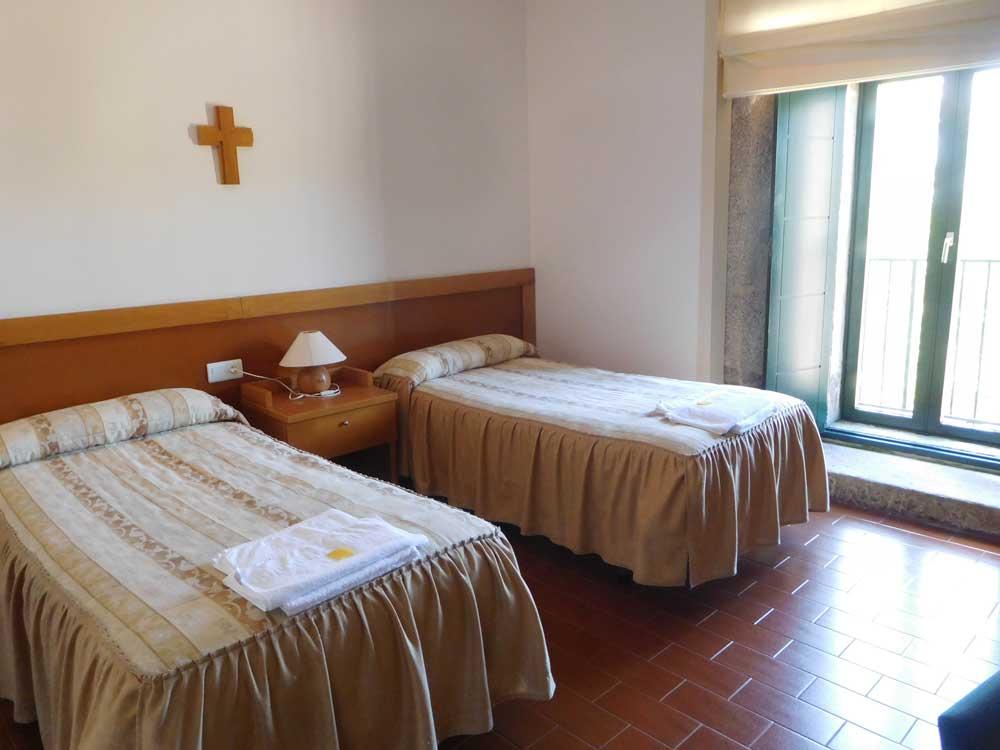 Habitaciones peregrinos Monasterio de Armenteira