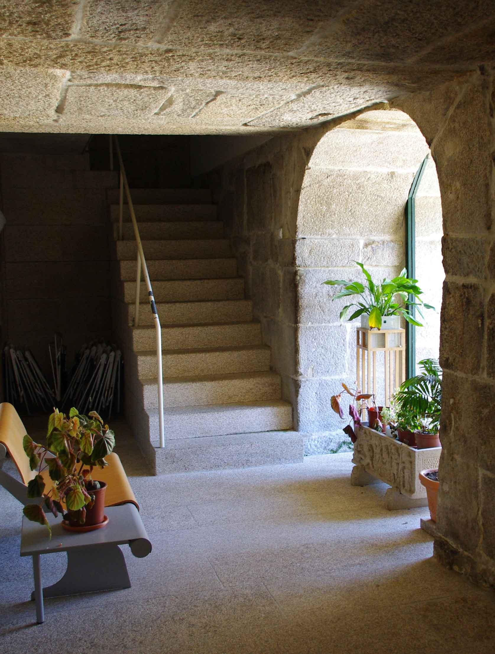 Entrada Hospedería Monasterio de Armenteira